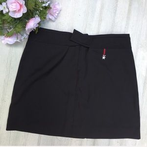 Tommy Hilfiger Black LOGO Mini Skirt